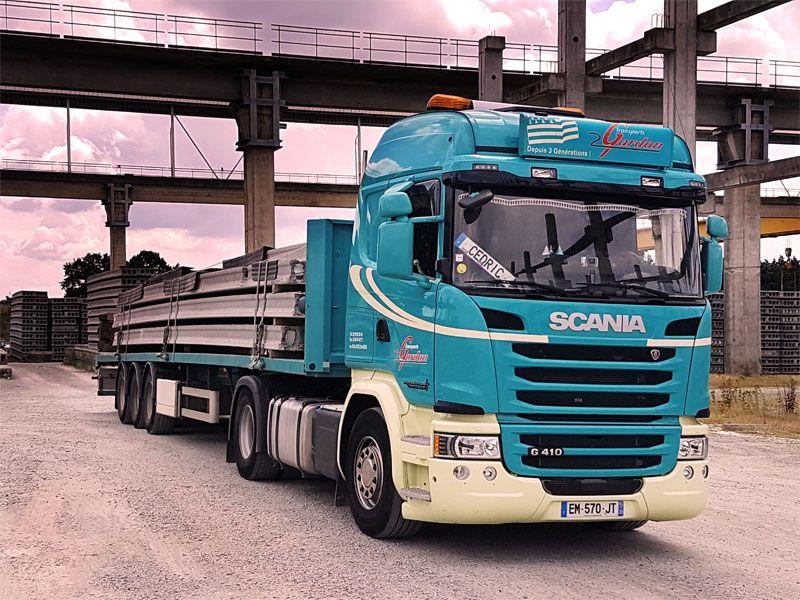 transport par plateau Rennes