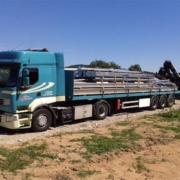 Transport matériel de chantier